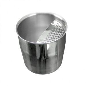 Κοντό Σκεύος INOX Σέικερ Με Σίτα 350ml - Κυπελοσυλλέκτης Καφέ