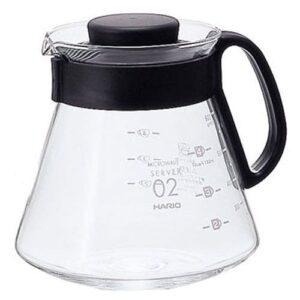 Κανάτα Σερβιρίσματος Καφέ Γυάλινη Hario V60 600 ml