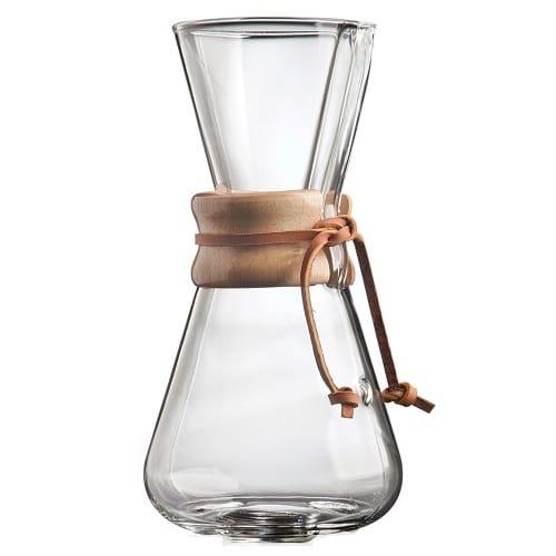 Chemex Καφετιέρα Drip Γυάλινη 3 Cups