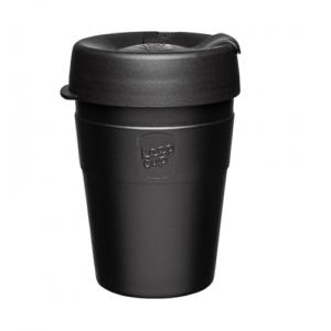KeepCup Thermal Black 12oz/340ml οικολογικό ανοξείδωτο ποτήρι Θερμός