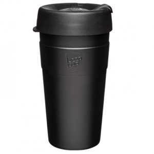 KeepCup Thermal Black 16oz/454ml Οικολογικό Ανοξείδωτο Ποτήρι Θερμός