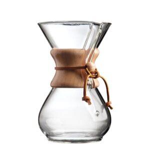 Chemex Καφετιέρα Drip Γυάλινη 6 Cups