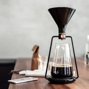 Gina Smart Coffee Maker Black