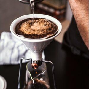 Gina Smart Coffee Maker Steel